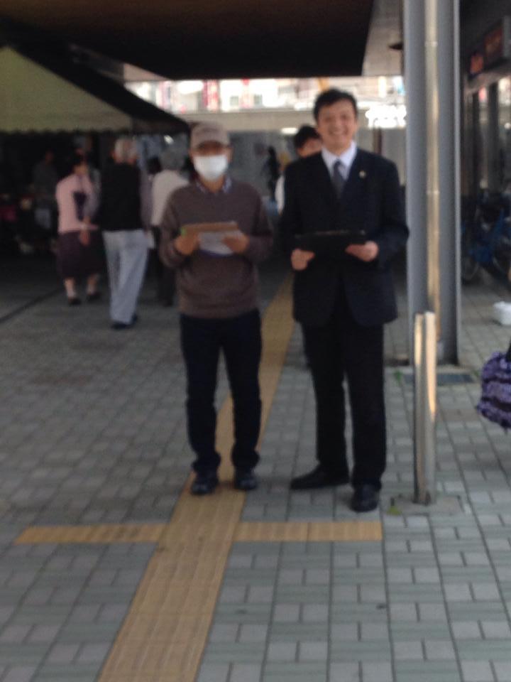 140510福井駅前街頭署名活動写真